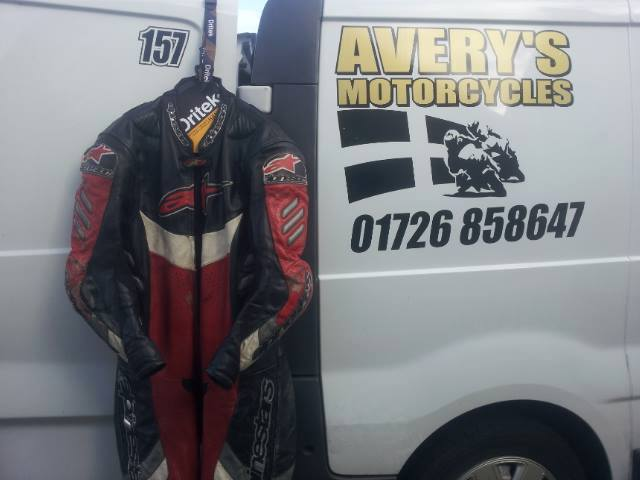 James Obourn Racing Leathers