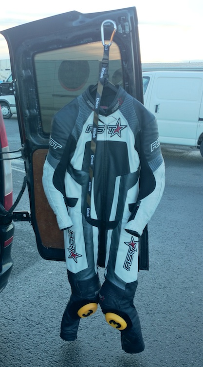 Dritek Hanger Motorcycle Leather Suit